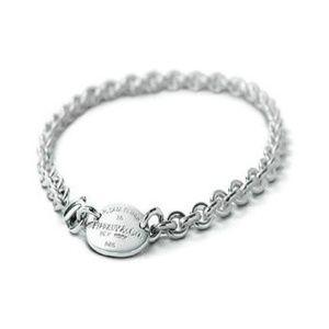 Return to Tiffany & Co Round Charm Necklace
